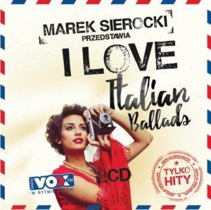Okładka składanki: I love italian ballads