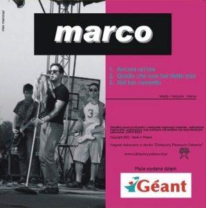 Okładka singla Ancora un'ora - Marco Bocchino